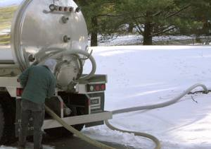 septic line thawing